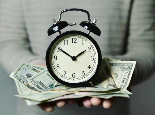 tempo e dinheiro meupatrocinio