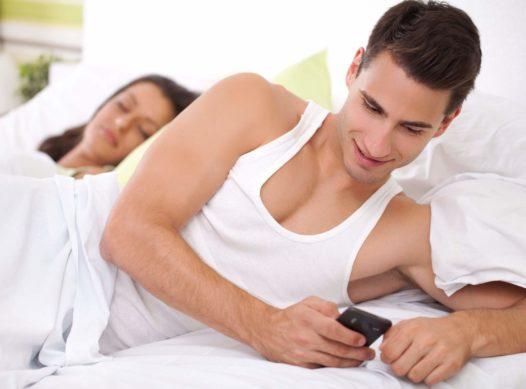 Casados em app de relacionamento